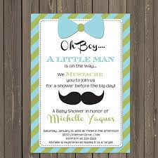 mustache baby shower invitations bow tie baby shower invitations mustache and bow tie ba shower