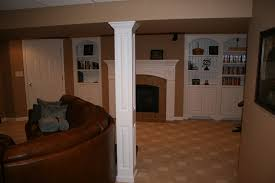 charming ideas basement columns finishing support pics would be