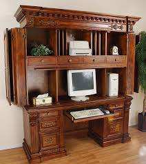 small computer armoire desk how to convert a closet in a