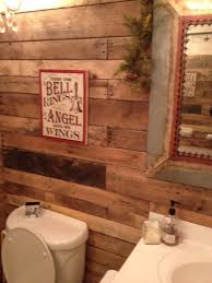 Primitive Country Bathroom Ideas Rustic Wood Backsplash Master Bath Remodel Pinterest Wood