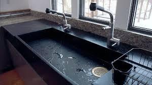 kitchen sink ideas ausgezeichnet soapstone kitchen sinks slab sink 4584 home