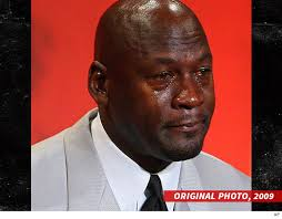 Jordan Crying Meme - schoolboy q crying jordan s on my album cover tmz com