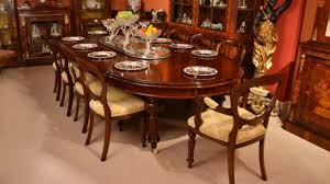 Dining Table And 10 Chairs Antique Dining Table And Chairs Mahogany Sets Tables 5