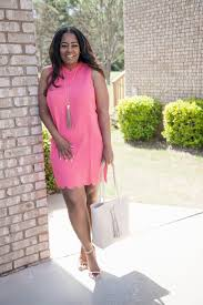 my style mud pie brittain scalloped shift dress talking with tami