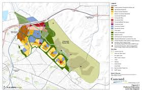 Concord California Map The Reuse Plan Concord Community Reuse Project Ca
