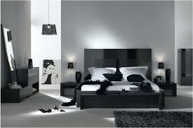 wall paint color with black furniture modern black bedroom