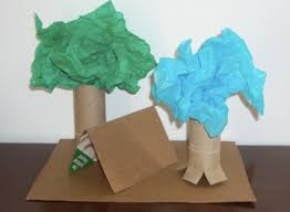 planetpals craft page make trees from paper and other