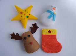 Bulk Christmas Decorations Nz by New Felt Toy Christmas Ornaments No 15 Pdf Pattern Felt