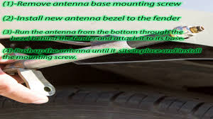 antenna bezel ornament for toyota sienna 86392 ae010 manual radio