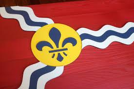 Flag By St Louis Wood Flag U2013 Patriot Wood