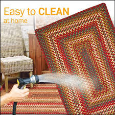 How To Clean Indoor Outdoor Rugs by Sunrose Indoor Outdoor Braided Rugs