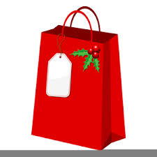 christmas shopping bags christmas shopping bag clipart free images at clker vector