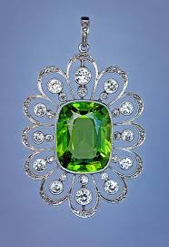 vintage art deco peridot jewelry august girls prefer peridot