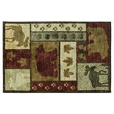bacova accent rugs amazon com bacova guild 28100 studio designs carved accent rug 60