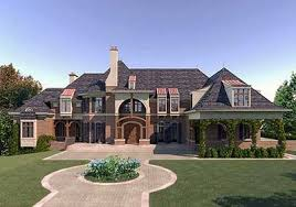 chateau style house plans european chateau style extravagance 12194jl architectural