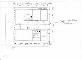 hauteur standard cuisine espace entre plan de travail et meuble haut unique norme hauteur