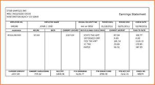 5 payroll stub template free sales slip template