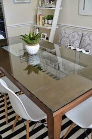 How To Make A Dining Room Table Dining Room Tables Glass Top Foter