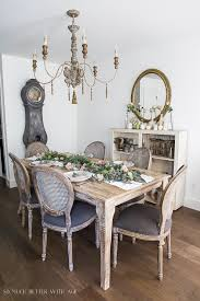 Dining Room Table Runners Eucalyptus Pears And Roses Table Runner Centrepiece So Much