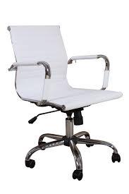 fauteuil de bureau blanc de bureau design blanc