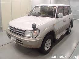 land cruiser pickup 1998 1998 toyota land cruiser prado pearl 2 tone for sale stock no
