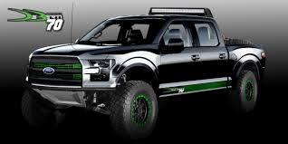 Ford Raptor Monster Truck - sema deberti design u0027s 2017 f 150 raptor ford authority
