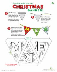 banner banners worksheets and banners