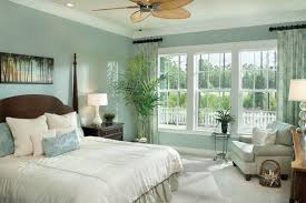 Blue Bedroom Color Schemes Blue Bedroom Color Scheme Featuring Traditional Bed Furniture