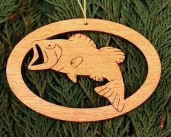mg bass ornament