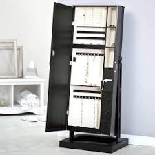 Wooden Jewelry Armoire Standing Mirrored Jewelry Armoire Antique Jewelry Armoire Jewelry