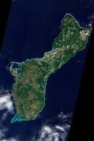 Satellite View Maps Guam Image Of The Day