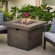Propane Firepit Home Loft Concepts Cali Polyresin Propane Pit Table Reviews