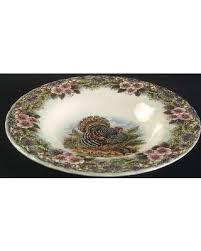 savings on churchill thanksgiving multicolor soup bowl