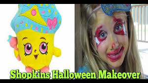 kids halloween makeup kids halloween makeup shopkins cupcake queen youtube