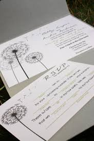 wedding invitations jakarta dandelion wedding invitation invitatious design