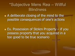 Willful Blindness Aml Wilful Blindness Definition Law Best Blind 2017
