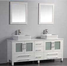 60 Inch White Vanity 60 Bathroom Vanity Double Sink White The Bridgeport 60 Inch