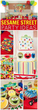 sesame birthday best 25 sesame party ideas on sesame
