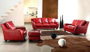 red sofa set for sale 3 piece sofa set full leather bremen red sofa set and ottoman 3