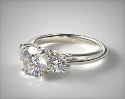 40000 engagement ring 17929p three engagement ring with scroll