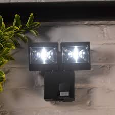 battery powered outdoor wall lights altuna bikain double l with motion detector amazon co uk diy