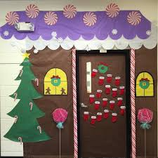 Classroom Door Decoration For Christmas by Craftionary