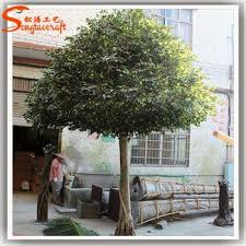home garden artificial ficus tree indoor no leaves for decoration