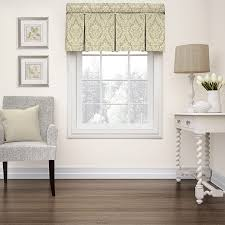 shop waverly donnington 18 in linen cotton rod pocket valance at