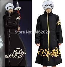 Clock Halloween Costume Aliexpress Buy Anime Piece Cosplay Costume Trafalgar Law