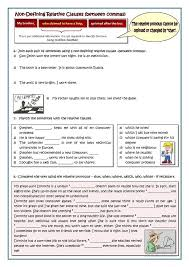 45 best relative clauses images on pinterest english grammar