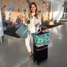 preppy for women over 50 real girl travel outfit ideas popsugar fashion