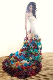 Alternative Wedding Dress Not For Me Really But The Spot Where The Colors Start To Fade