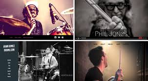 design inspiration best drummer websites