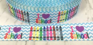 wholesale ribbon 7 8 school ribbon 100 days smarter back to school ribbon
